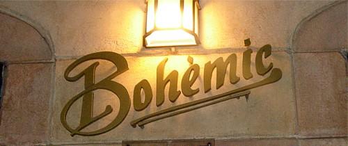 Restaurant Bohèmic  |  Barcelona