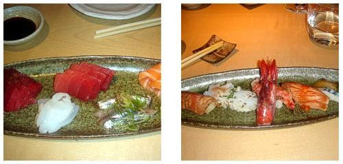 Sashimi Moriawase & Sushi Moriawase