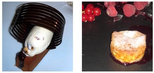 Bombón crujiente de coco &  Crujientes de vainilla