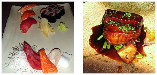 Sushi+Sahimi  &  Maguro teriyaki
