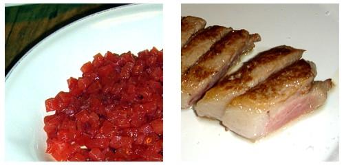 Tartar de salmón  &  Ventresca de atún