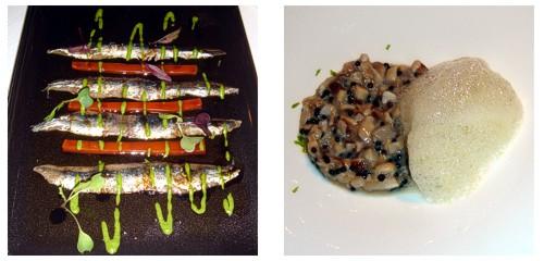 Anchoas Nardin 000  &  Tartar de ostras y caviar