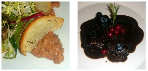 Steak-tartar  &  Civet de corzo