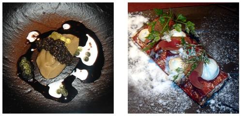 Caviar beluga y avellana  &  Viaje nórdico
