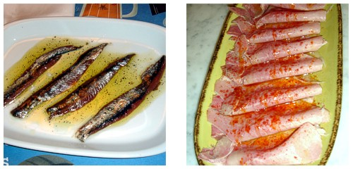 Anchoas  &  Lacón