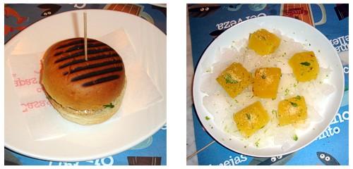 Burgerbull  &  Piña cocorrón