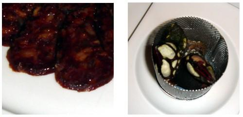 Chorizo casero  &  Percebes