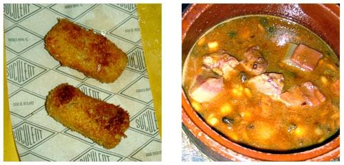 Croquetas de pollo  &  Cap-i-pota