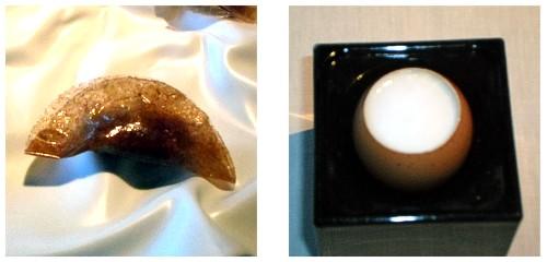 Empanadilla de atún  &  Huevo sin huevo