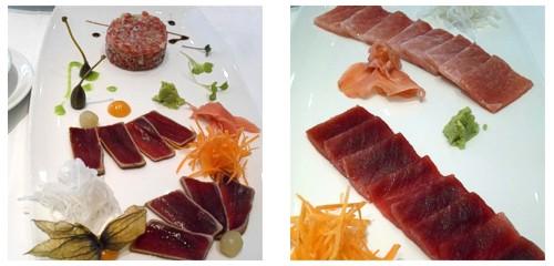 Tartar, tataki & sashimi