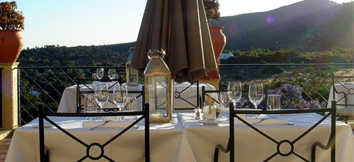 Restaurant Orangerie (Hotel Vila Monte)  |  Moncarapacho