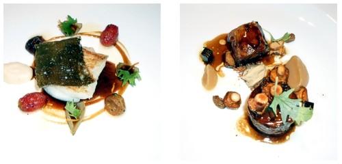Pelaya  &  Pintada con foie-gras