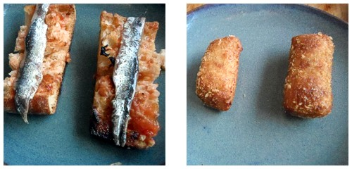 Anchoas  &  Croquetas