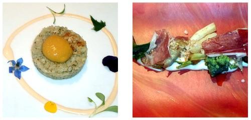 Tartar de celerí  &  Verduritas de temporada