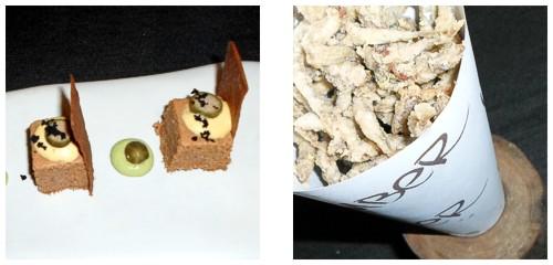 Pastel de pescado  &  Pescaíto frito