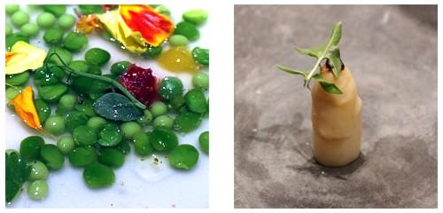 Consomé vegetal  &  Espárrago de la comtessa