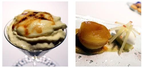Crema catalana  &  Tarta tatin