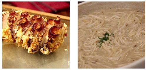 Pulpo  &  Espaguetti