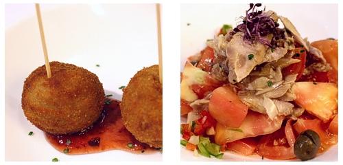 Croquetas  &  Tomate de Barbastro