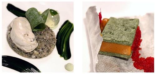 Tartar de ostra  &  Erizos de mar