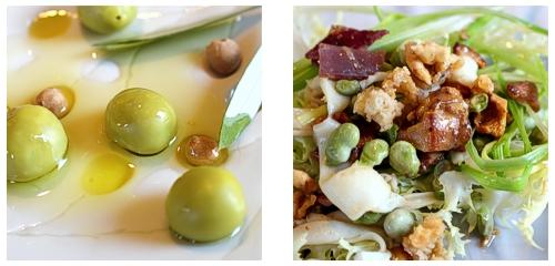 Oli i oliva  &  Ensalada de espardenyes