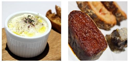 Terrina de jabalí  &  Sobrasada y miel