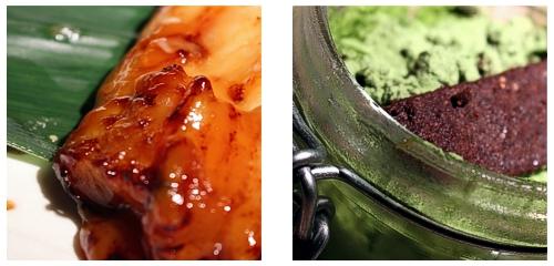 Bacalao negro  &  Tiramisú de té