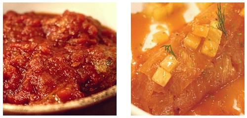 Albóndigas  &  Crêpes suzette