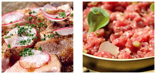 Atún & Steak-Tartar