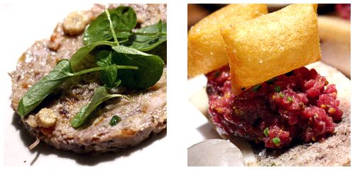 Rillette & Steak tartar