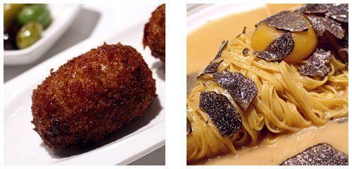 Croquetas & Linguini
